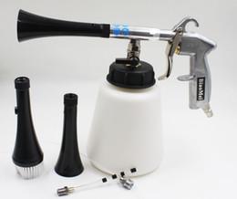 z-010 Black high pressure cleaning gun for car wash silcone tube clean gun car wash tornador gun(1complete gun+2horn+1brush+1tube+1pipe)