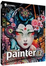 Wholesale Computer digital art painting software Corel Painter v12 ENGLISH