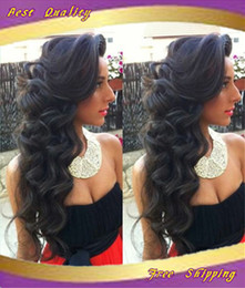 Wholesale High quality A Lace front wig glueless full lace wigs Malaysia body wave Virgin human hair wigs with baby hair for black women