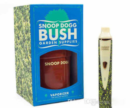Wholesale Snoop Dogg G pro Bush dry herbal vaporizer announce newest collaborative venture produces pure vapor for optimum flavor in stock