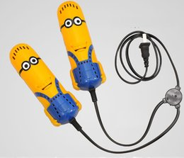 Wholesale 2015 new yellow man Electric Shoe Dryer with Heater Dehumidify Disinfector Deodorizer Shoe warmer care tools