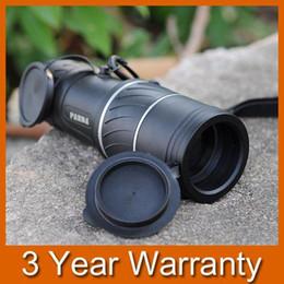 Lente de enfoque dual en venta-Dual Focus 18x52mm HD Óptica Telescopio Zoom Verde Óptico Lens Armoring Monocular Alta Calidad Turismo Alcance Binoculares