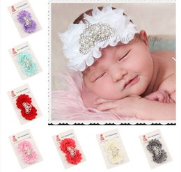 New Baby Hair band Infant Baby Big Flower Hair Accessories With Crown Babies Girl Hair Band Headband Baby Head Band Kids Hairwear