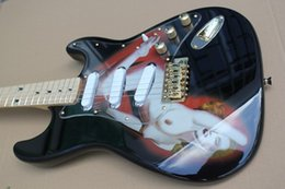 Wholesale In the arrival of the new high quality electric guitar beauty stickers string selling OEM production