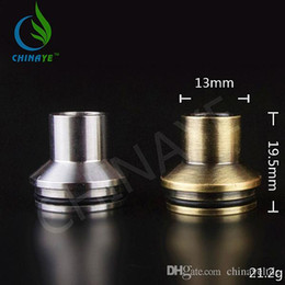 Tobh Atty Drip Tip Wide Bore Stainless Steel Tip for 22mmTobh Atty RDA RBA Atty