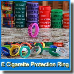Wholesale Newest Vape Ring Rubber Anti Slip Band for Mechanical Mod RBA RDA Tank Vape Bands Rings for Tank RBA RDA Atomizers