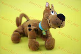 Свободный материал собаки для продажи-Бесплатная доставка оригинальных Scooby Doo собаки игрушки 25 см дерзкий Scooby Doo игрушки собака куклу pelucia boneca мягкие игрушки для детей подарки