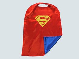 Wholesale Superhero Capes double side Children Boy Costumes for Children Halloween Christmas Party Costumes Captain Capes Cloaks Star Wars Capes