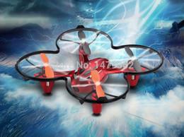 Promotion drones de caméras aériennes Gros-Hot Sale Shuangma 9136 Rc Helicopter Drone 2.4Ghz 4CH Quadrocopter avec caméra vidéo Envoyer carte mémoire 1G aérienne Fonction flash