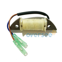 New oversee Charge Coil 63V-85520-00-00 for fitting Yamaha 9.9HP 15HP Outboard spare parts engine model