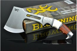 Wholesale New Outdoor survival camping chopper fire ax survival kit hatchet pattern Browning ax