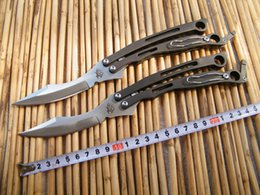 Wholesale Spyderco Szabofly Butterfly Knife Bali Flipper mm B03P THE ONE balisong butterfly knife C blade