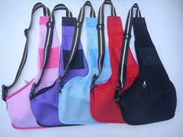 Wholesale New Fashion Design Mesh Dogs Sling Carrier Bag dog apparel pet supplies dog accessories Dogs Bag