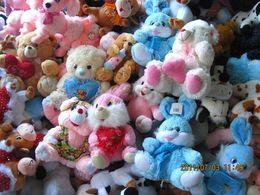 Wholesale rabbit bears animals toys Plush toy doll wedding gift vending machine doll birthday gift