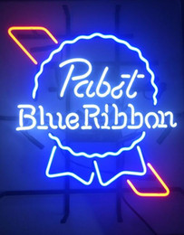 Wholesale Pabst Blue Ribbon Beer Neon Light Beer Sign quot x14 quot Brand New Pabst Blue Ribbon Beer Neon