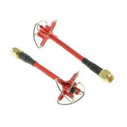 Wholesale AOMWAY G dBi RP SMA Male Four Lobe RHCP VTx VRx FPV Antenna