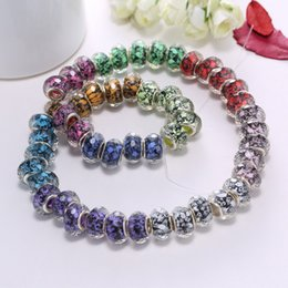 Wholesale RINHOO murano glass beads Multi color beads charms loose beads thread bead Diy loose beads jewelry fit bracelet a variety of styles beads