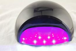 Wholesale 27W BALCK Nail Care Polish LED UV Gel Tips Curing Nail Art Tools Salon amp Light Dryer