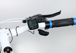 Wholesale Sigma Bike Computer BC Sports Cycling Wired Computer Speedometer Odometer Stopwatch Bicycle Cyclocomputer Ciclocomputador