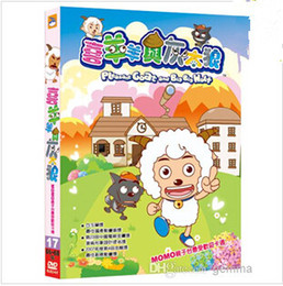 Hot selling DVD movie for children DVD Movies TV series xiyangyang huitailang Cartoon movies Children Film