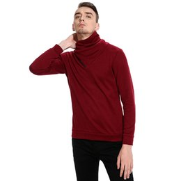 Hot sale New Fashion Korean Punk Style Zipper Pullover Men thermal Sweater Casual Long Sleeve Knitwear