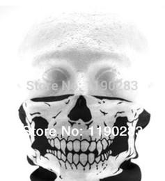 Wholesale-Skull Design Multi Function Bandana Ski Sport Motorcycle Biker Scarf Face Mask CS Skull Masks 1 PCMASKS