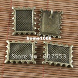 Wholesale 10pcs antiqued bronze rim picture frame G1606