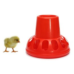 Wholesale Automatic Ducks Waterer Red Drinker Poultry Feeder Geese Fowl Chicken Bird Coop Pigeons Farm Animal Drinking Supplies