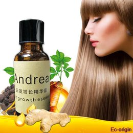 Wholesale Hair Care Styling Hair Loss Products Herbal Andrea Fast Hair Growth Essence alopecia hair loss liquid Ginger shampoo for sunburst yuda Hair