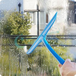 Wholesale Colorful Soft Rubber Glass Cleaning Blade Shave Car Windows Cleaning Brush Bathroom Tile Glass Wiper Cleaner