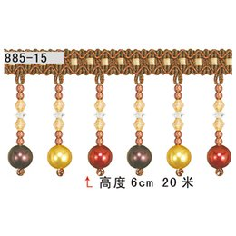 Wholesale Promotional Authentic upscale curtain accessories lace curtains roll of meters high CM