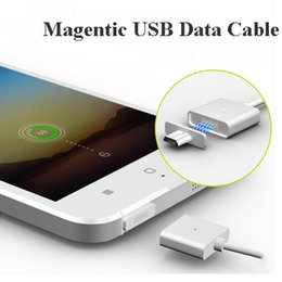 Wholesale Metal Magnetic Data Cable Micro Usb Charger Sync High Speed V8 Andriod Dustproof Dust Prevention Samsung Huawei Xiaomi LG Moto