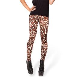 Legging pour l'espace Print Legging pour la femme à partir de girafe haute fournisseurs