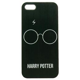 Wholesale Harry Potter Glass White Design Black Skin Hard Plastic Phone Case Cover For Iphone 4 4S 5 5S 5C 6 6 Plus