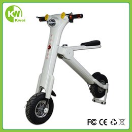 Wholesale Newest style Folding electric bicycle fashion design new life styel new patent product with lithium battery W battery