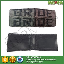 Wholesale Password JDM Billfold Wallet PWJDM P Jap Drift Rally Track Gift For Honda Toyota