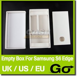 Wholesale Best Price Empty Boxes US EU UK Version Packing Box For Samsung Galaxy S6 Edge Without Accessories