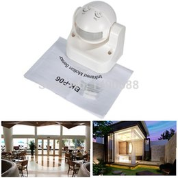 Outdoor 50Hz 180 Degree Security PIR Infrared Motion Movement Sensor Detector Switch Free Shipping