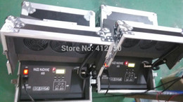 Wholesale No Need Heating w haze machine Stage dual w hazer Flight case Packing Fog Smoke Haze Machine