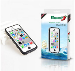 Wholesale redpepper Waterproof Case For Iphone S S C Plus Samsung Galaxy S3 S4 Note Water Shock proof Case Retail Packaging