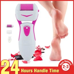 Christmas Gift Dead Skin Removal Callus Remover Feet Roller Pedicure Remover Foot Hard Skin Peeling Beauty Device