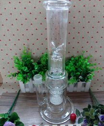 Wholesale Hand Blown Glass bong water pipe glass bongs Vase Perc Water Percolator Smoking Pipe turbine arms mm Joint