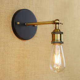 Free Shipping New Vintage Small Wall Light RH Loft Lamps For Home decor Restauran Dinning Room e27 90V-260V 40W Edison Bulb