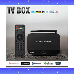 Wholesale Best Android TV Box Q7 CS918 Full HD P RK3128 Quad Core Media Player GB GB kodi15 XBMC Wifi Antenna with Remote Control V763