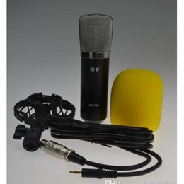 Wholesale Hot Sale professional wired microphone for karaoke and studio recording condenser mic of audio accessories parts