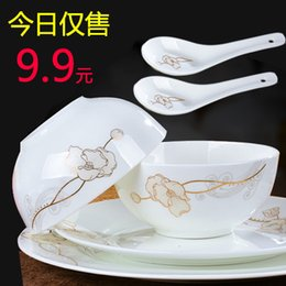Wholesale-Quality bone china ceramic dinnerware set wedding gifts