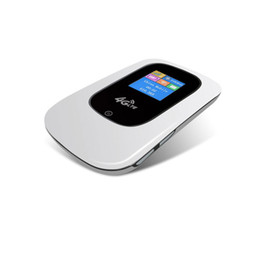 Wholesale HOT SALE Portable Mbps G LTE Wireless Router Mobile Dongle SIM Card Sierra Wireless Mobile Hotspot Elevate G LTE WiFi Router Drop Shipp
