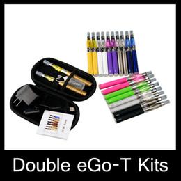 Ego t double starter E-cigarette Ego CE4 starter Kit ecig e cig battery electronic Cigarette ce4 ego t vaporizer in stock