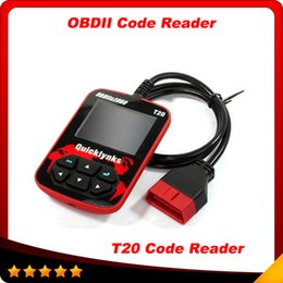Wholesale Leagend Quicklynks Auto Code Reader T20 CAN OBDII Diagnostic Tool for OBD2 EOBD Trouble Code Reader HandHeld Tool DHL free