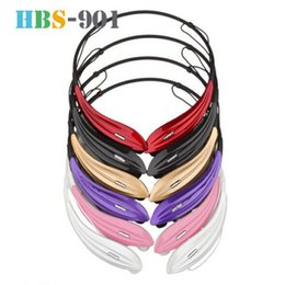 Wholesale LG TONE Stereo Bluetooth Headphones APT X HBS HBS Headsets Wireless Neckband Stereo Earphones Sport Earbuds With Microphone